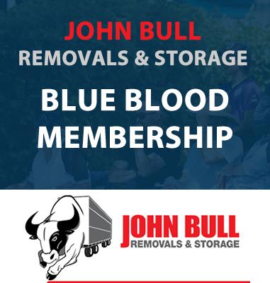 John Bull Removals & Storage - Blue Blood Membership